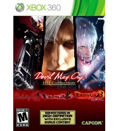 Devil May Cry HD Collection (1+2+3) XBOX360