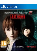 Dead or Alive 5 Last Round ( Lietota spēle ) PlayStation 4 PS4