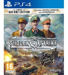 Sudden Strike 4 PlayStation 4 PS4