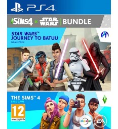 The Sims 4 + Star Wars: Journey to Batuu DLC Bundle PlayStation 4 PS4