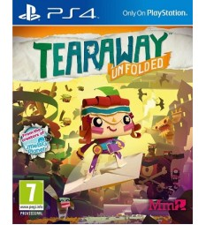 Tearaway Unfolded PlayStation 4 PS4