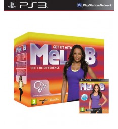 Get Fit With Mel B + Resistance Band  PlayStation 3