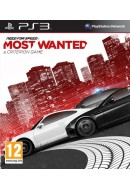 Need for Speed Most Wanted ( Lietota spēle ) PlayStation 3